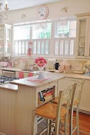 pink and white girly shabby chic kitchen charming shabby chic kitchen