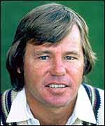 South African all-rounder Mike Procter. Mike Procter was at his peak during the 1970s - _1968299_proc150