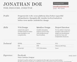 great html cv resume templates   template   idesignowhtml resume