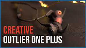<b>Creative Outlier One Plus</b> In-Earphones 2018 | 4GB Storage ...