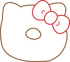 hello kitty template clipart best invitation templates clipart best design a hello kitty jumbo donut squishy