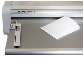 <b>ROWE VarioFold Compact</b> folding machine