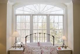 a bed positioned in front of a window offers a layout solution in a bedroom with arrange bedroom furniture