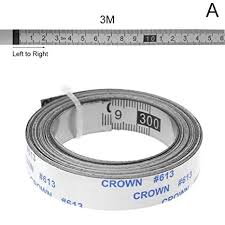 Triupy Stainless Steel <b>Miter Track Tape</b> Measure <b>Self</b> Adhesive ...