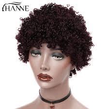 <b>HANNE Hair</b> Human <b>Hair</b> Wig For Black Women Brazilian Remy ...