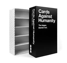 cards against humanity card games amazon cards against humanity the bigger blacker box
