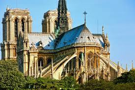 revolutionary gothic architecture flying buttresses cathacdrale de notre dame
