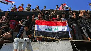 Hundreds gather in Baghdad in <b>new round</b> of anti-gov't protests ...