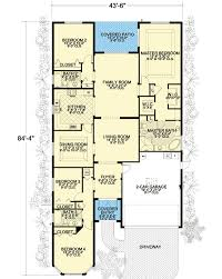 Long and Narrow   AA   st Floor Master Suite  CAD Available    Floor Plan