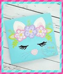 Cat Face Crown Applique | Embroidery machine reviews, Christmas ...