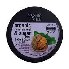 Купить <b>Скраб пенный</b> для <b>тела</b> «Organic shop» - Сладкий ...