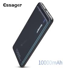 <b>Essager</b> 10000mAh <b>Power</b> Bank <b>Portable</b> Charging External <b>Battery</b> ...