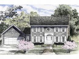 Colonial House Plans   The House Plan ShopColonial House Plan  H