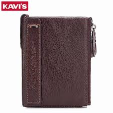 KAVIS <b>Genuine Cowhide Leather Men</b> Wallet Male Cuzdan walet ...
