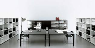 modern home office black white office contemporary home office