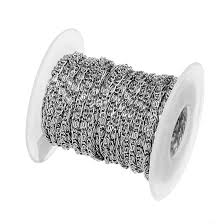 10 Yards/roll Stainless Steel Silver Tone 1mm <b>1.5mm 2mm 2.5mm</b> ...