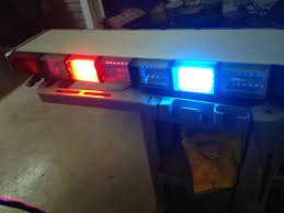 whelen led lightbar whelen edge 9m 9000 series led strobes lightbar blue red led work