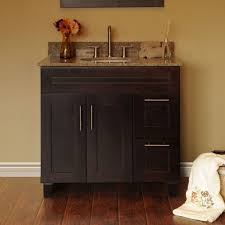 furniture beauty country bathroom vanities and sinks using undermount washbasin with brushed nickel pull down faucet black painted furniture ideas