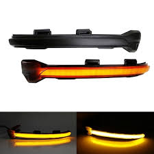 <b>Dynamic Turn Signal Led</b> Rearview Mirror Indicator Light For- Golf ...