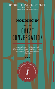 society for philosophy culture publications nodding in on the great conversation juvenilia and published and unpublished essays on david hume immanuel kant and higher education