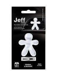 Автомобильный <b>ароматизатор</b> JEFF   Italy   аромат <b>сандал</b> и ...