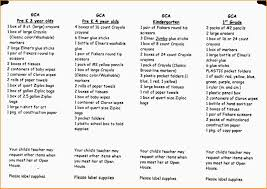 daycare supplies list paradochart related for 6 daycare supplies list