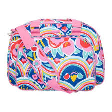 Pink maternity bag + nappy-changing mat enjoy & dream para ...