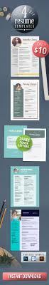 17 best ideas about resume maker resume 4 resume templates bundle 2 cover letter templates professional design creative