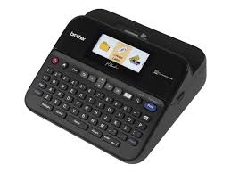 <b>Brother P-touch</b>, <b>PTD600VP</b>, PC-Connectable Label Maker with Full ...