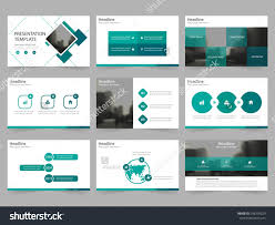 green square abstract presentation templates infographic stock green square abstract presentation templates infographic elements template flat design set for annual report brochure