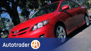 Auto Trader Oregon 2013 Toyota Corolla Sedan New Car Review Autotrader Youtube