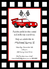 race car birthday invitations net race car birthday invitations ctsfashion birthday invitations