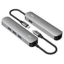Купить USB-концетратор <b>HyperDrive</b> TUBE <b>6</b>-in-<b>1</b> Hub Silver