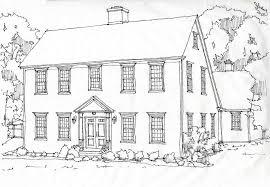 Classic Colonial HomesClassic Colonial HomesCChonline Saltbox House Rendering