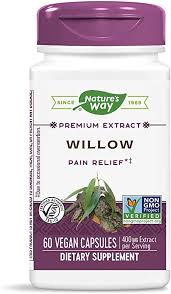 Nature's Way White Willow Bark, 400 mg of Extract per ... - Amazon.com