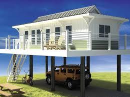 Stilt House Plans   Smalltowndjs comHigh Quality Stilt House Plans   Tiny Beach House On Stilts