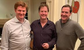 Danny Alexander joins Nick Clegg for a photo with