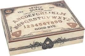 Nemesis Now Spirit Board <b>Gothic Occult</b> Ouija Board Wooden ...