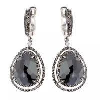 Купить серебряные <b>серьги</b> МАРКАЗИТ в интернет-магазинах ...