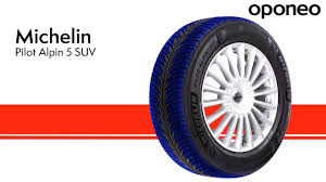 Tyre <b>Michelin Pilot Alpin 5</b> SUV Winter Tyres Oponeo™ - YouTube