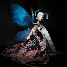 Ilustración de Madama Butterfly expuesta en el Museo ABC
