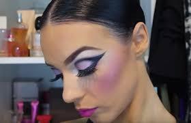 dramatic ballroom makeup tutorial