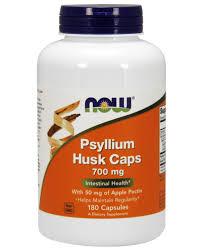<b>Psyllium Husk 700</b> mg <b>Capsules</b>