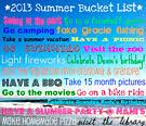 "<b>Summer Bucket</b> List"" - What <b>Kids</b> Can Do"