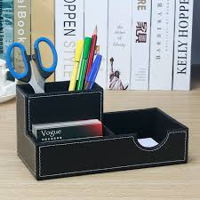 korean fashion wooden pen holder pencil container with drawer blackboard student organizer school office stationery supplies