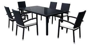 furniture awesome black and white outdoor wicker furniture pertaining to black outdoor dining table decorating black outdoor dining table for black outdoor black outdoor furniture