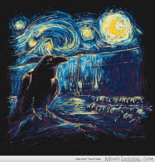 Starry Night's Watch - Artwork born from nothing to watch on ... via Relatably.com