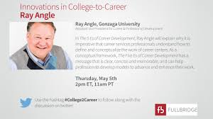 innovations in college to career ray angle on vimeo