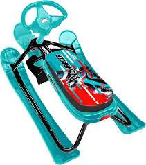 <b>Снегокат Nika Тимка спорт</b>, ТС2, черный, голубой