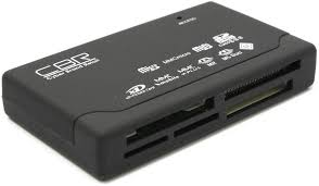 <b>Картридер CBR CR</b>-455, All-in-one, USB 2.0, ноут., софттач